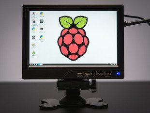 "7"" Display 1280x800 (720p) IPS + Speakers - HDMI/VGA/NTSC/PAL"