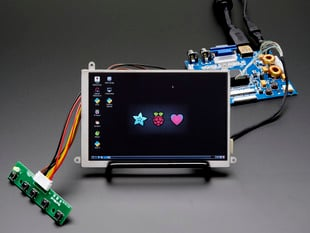 "5.6"" Display & Audio 1280x800 (720p) Kit - HDMI/VGA/NTSC/PAL"