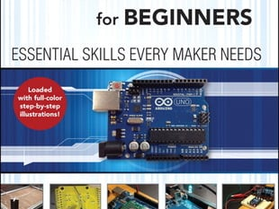 "Front cover of ""Arduino for Beginners Essential Skills Every Maker Needs"""