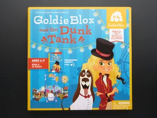 Goldie Blox and the Dunk Tank outer packaging