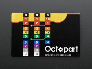 Octopart Pocket Electronics Reference PCB