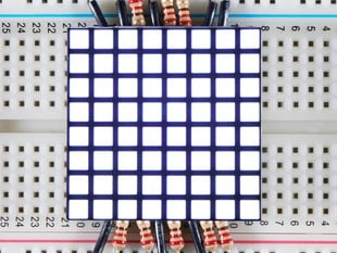 "1.2"" 8x8 Matrix Square Pixel - White - KWM-R30881CWB-Y"