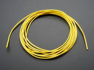 Yellow Silicone Cover Stranded wire