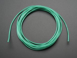 Green Silicone Cover Stranded-Core wire