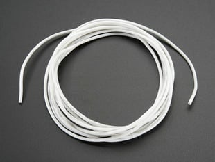 Silicone Cover Stranded-Core Wire - 2m 26AWG White