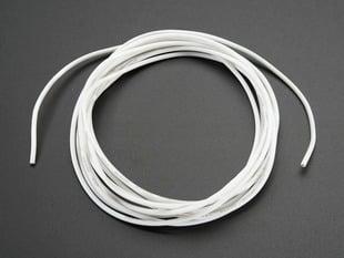 White Silicone Cover Stranded-Core Wire