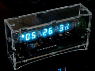 Ice Tube Clock kit - v1.1