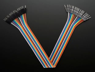 Premium Male/Male Jumper Wires - 20 x 12