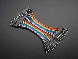 Premium Male/Male Jumper Wires - 20 x 3