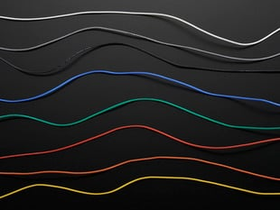 Silicone Cover Stranded-Core Wire - 26AWG in Various Colors