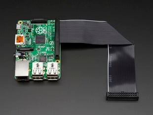 Downgrade GPIO Ribbon Cable for Pi A+/B+/Pi 2/Pi 3 - 40p to 26p