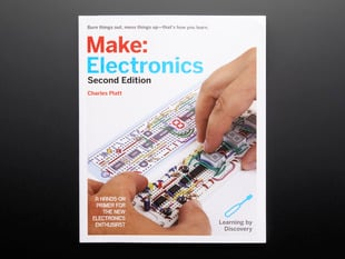 Cover of Make: Electronics Second Edition. Author: Chris Platt