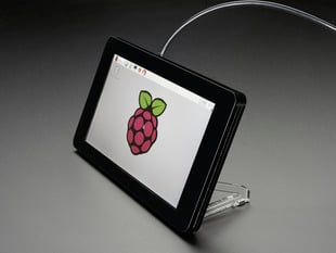 "Pimoroni Raspberry Pi 7"" Touchscreen Display Case - Noir"