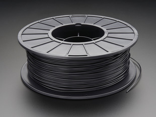 PLA/PHA Filament for 3D Printers - 1.75mm Diameter - Black - 1KG