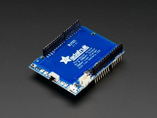 Adafruit PowerBoost 500 Shield - Rechargeable 5V Power Shield