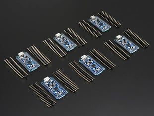 Adafruit Pro Trinket 6-Pack - 3 x 3V and 3 x 5V Trinkets