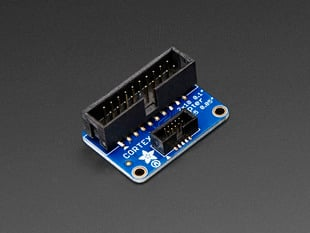 JTAG (2x10 2.54mm) to SWD (2x5 1.27mm) Cable Adapter Board
