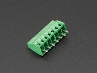 "2.54mm/0.1"" Pitch Terminal Block - 7-pin"