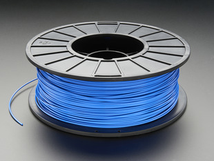 PLA/PHA Filament for 3D Printers - 1.75mm Diameter - Blue - 1KG