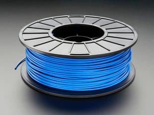 Spool of PLA filament for 3D printers - blue color with 3mm Diameter.