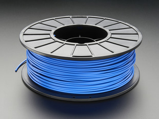 PLA Filament for 3D Printers - 3mm Diameter - Blue - 1KG