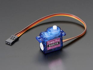 Sub-micro Servo with three pin cable