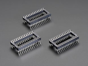 "IC Socket - for 28-pin 0.6"" Chips - Pack of 3"
