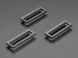 "IC Socket for 40-pin 0.6"" Chips - Pack of 3"
