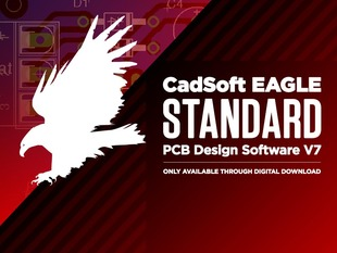 CadSoft EAGLE Standard PCB Design Software V7 - 3 Users