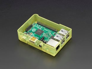 Pi Model B+ / Pi 2 Case Base - Yellow