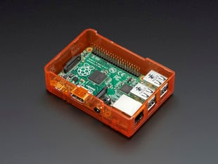 Pi Model B+ / Pi 2 / Pi 3 Case Base - Orange