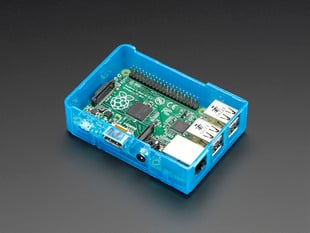 Pi Model B+ / Pi 2 / Pi 3 Case Base - Blue