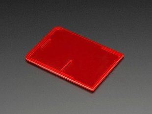 Raspberry Pi Model B+ / Pi 2 Case Lid - Red