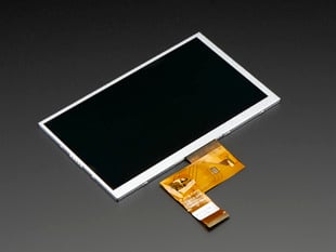 "7.0"" 40-pin TFT Display - 800x480 without Touchscreen"