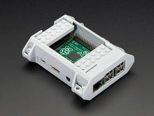 SmartiPi Kit - LEGO® Compatible Case for Raspberry Pi B+ / Pi 2 - Gray