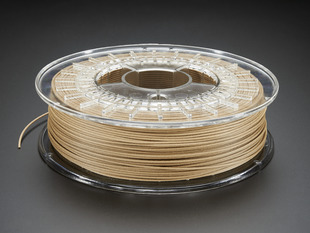 Spool of PLA/PHA bambooFill filament for 3D printers - light brown color with 1.75mm Diameter.