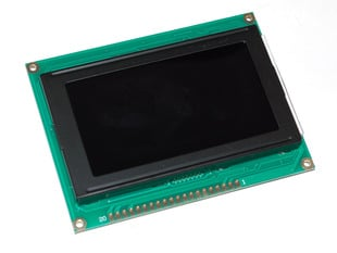 MONOCHRON KS0108 Graphic LCD