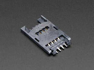 Surface mount SIM Card Holder