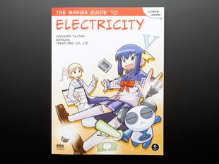 The front cover of an Electricity Anime comic book