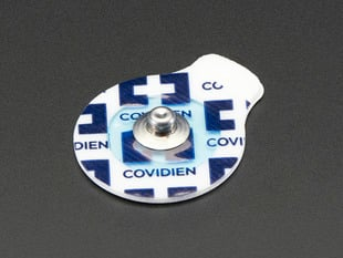 Muscle Sensor Surface EMG Electrodes - H124SG Covidien - Pack of 6
