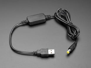 USB to 2.1mm DC Cable with Booster module