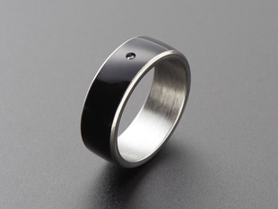RFID / NFC Smart Ring - 22mm Diameter - NTAG213