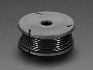 Small spool of black wire
