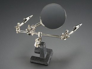 Helping Third Hand Magnifier W/Magnifying Glass Tool - MZ101