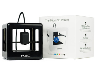Micro 3D Printer - Black - Retail Edition