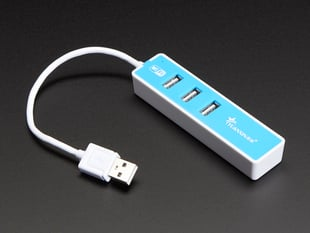USB 2.0 WiFi Hub with 3 USB Ports