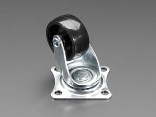 "Supporting Swivel Caster Wheel - 1.3"" Diameter"