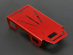 Anodized Aluminum Metal Chasis for a Mini Robot Rover