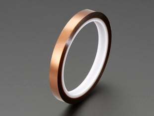 High Temperature Polyimide Tape - 1cm wide