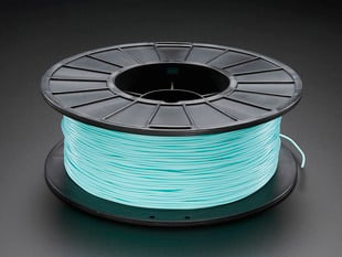 PLA/PHA Filament for 3D Printers - 1.75mm Diameter - Teal - 1KG